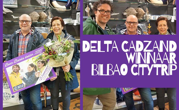 WINNAAR CITYTRIP:  DELTA HEALTH & BEACH CADZAND